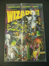 Wizard The Guide To Comics Vol.1 #21 May 1993 Factory Sealed with Cards