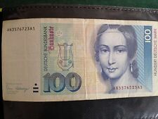 F. R. Germany 100 Deutsche Mark as shown in pictures