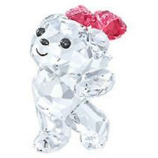 Swarovski Crystal-Kris Bear-Say it With Roses---Brand New & Boxed-Retired