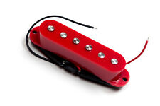 Red rojo Artec single coil pickup staggered pole SSC for Stratocaster guitar