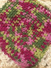 MINIATURE Crochet Dollhouse GRANNY SQUARE English Garden 5 Inches