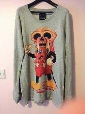 Drop Dead Clothing Facemelter Jumper Mens Medium