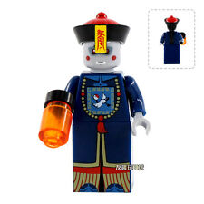 Chinese Qing Dynasty Zombie Building Model Blocks Minifigures xmas Kids Toys WQ