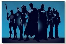 Justice League Comic Movie Art Silk Poster 24x36inch BatMan Iron Man 001