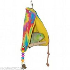 PEEKABOO PARROT PERCH TENT - SMALL - FOR BUDGIES, CANARIES, FINCHES