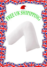 V SHAPED ORTHOPAEDIC MATERNITY NURSING PILLOW NECK - DUCK FEATHER FILLING