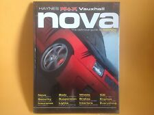 SEALED HAYNES MAXPOWER MAX POWER MANUAL VAUXHALL NOVA GUIDE TO MODIFYING