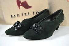 Damen Pumps Peter Kaiser made in West Germany Schleife TRUE VINTAGE loop green