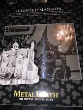 Disney Parks Metal Earth 3D Model Kit Haunted Mansion WDW Walt World NEW