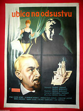 CRIMINAL ON VACATION 1965  ANNEKATHRIN BURGER  GERMAN RARE EXYU MOVIE POSTER