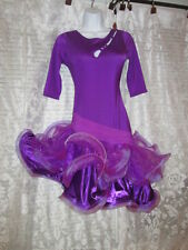 NWT Sassy Latin Ballroom Tango Competition Dancing Dress Costume-M/L-