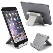 Portable Folding Metal Desk Mount Holder Stand For Cellphone iPad Air Pad Tablet