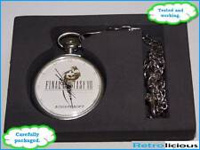 Final Fantasy VIII 8 pocket watch with chain - boxed & rare - FAST SAFE POST