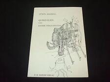 Otwin Massing und Zeichnungen Otto Robeck - Quisquilien und andere Versatzstücke