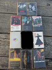 10 LOT Cassette Dokken Yes Kim Mitchell Accept Alice Cooper Boston Joe Walsh ZZ