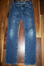 Girl's seventy seven by American Eagle Distressed & Paint Splatter Jeans, size 8
