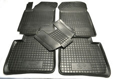 KIA CERATO 2004-2008 Rubber Car Floor Mats All Weather Alfombrillas Goma