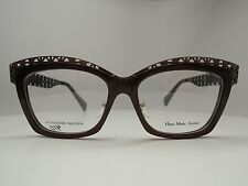 Alexander McQueen AMQ-4267 Eyeglasses Women's 100% Authentic Made in Italy