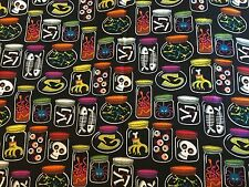 Halloween Jars of Creepy Potion Ingredients for Witch Witches JoAnn Fabric BTHY