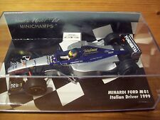 1/43 equipo 1999 Ford M01 Italiano Driver Luca más