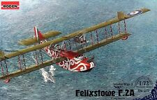 FELIXSTOWE F.2A - WW I BRITISH LONG RANGE FLYING BOAT 1/72 RODEN