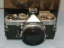 OLYMPUS OM-1N CHROME CAMERA BODY BOXED