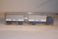 Wiking #424 MAN Cargo Truck with Trailer, Nice with Original Box