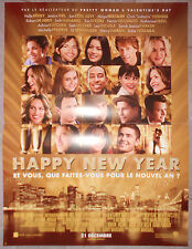 Affiche HAPPY NEW YEAR New Year's Eve JESSICA BIEL Halle Berry 40x60cm