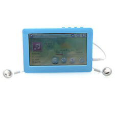 "16GB 4.3"" LCD Touch Screen MP4 MP5 Player FM Radio Recorder USB TF Slot Blue"