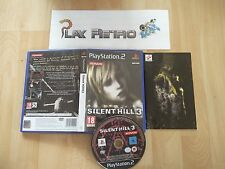 PLAY STATION 2 PS2 SILLENT HILL 3 COMPLETO PAL ESPAÑA