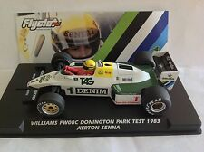 "FLYSLOT - WILLIAMS FW08C DONINGTON PARK TEST 1983 ""SENNA"" BNIB: FREE UK POSTAGE"