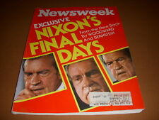 Newsweek Magazine, April 5, 1976, Nixon's Final Days, Woodward, Bernstein!