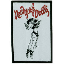 NEW YORK DOLLS - Cowgirl - Woven Sew On Patch (SP185)
