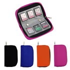 SD SDHC MMC CF Micro SD Memory Card Storage Carrying Pouch Case Holder Wallet KK