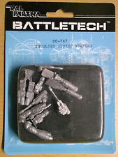 Ral Partha Battletech 20-747 Shoulder Socket Weapons (Mint, Sealed) *Unseen*