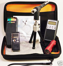 Ghost Hunt Kit - Spirit Box - Laser Pen - K2 KII EMF Meter - Recorder - Case +