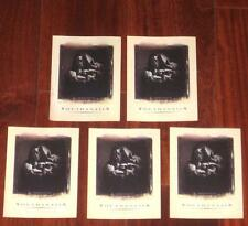 Megadeth Lot of 5 Rare Youthanasia Halloween US Promotional Only Stickers