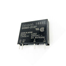 5PCS G3MB-202P DC-AC PCB SSR In 12V DC AC 2A Out 240V Solid State Relay Module