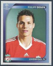 PANINI UEFA CHAMPIONS LEAGUE 2008-09- #339-LIVERPOOL & SWITZERLAND-PHILIPP DEGEN