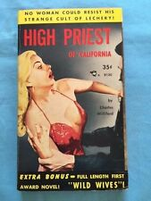 HIGH PRIEST OF CALIFORNIA & WILD WIVES - FIRST EDITION BY CHARLES WILLEFORD