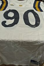 Ucla Game Used Football Jersey Size 44 #90 Pieper