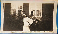 AJ175 Original Vintage Snapshot Photo Gay Lesbian Girl in Drag Joplin Monett MO