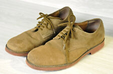 "Hush Puppies Tan ""Dirty Buck"" Suede Leather Oxford Shoes Size 8.5 M"