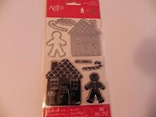 Art-C Christmas 2016 Stamp & Cut Set - Gingerbread House -#691 -NEW!!