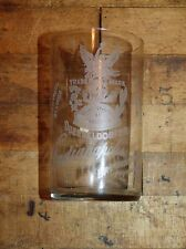 Circa 1904 Indianapolis Brewing Co Duesseldorfer Glass Grand Prize St. Louis