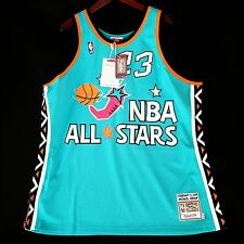 100% Authentic Michael Jordan Mitchell Ness 1996 96 All Star Game Jersey 52 2XL