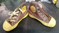 Amazingly RARE Davy Crockett Indian Scout Kids Shoes 1950's VHTF Converse taylor
