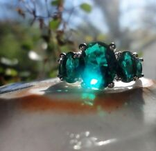 GREEN RING 9 ASWANG Vampire Wealth Luck Transform haunted witch owned