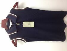aquascutum ladies sleeveless polo.xs