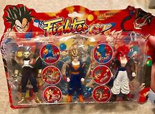 mexican DRAGON BALL Z GT Dbgt action figure Set Vegeta Gogeta Vegito VINTAGE